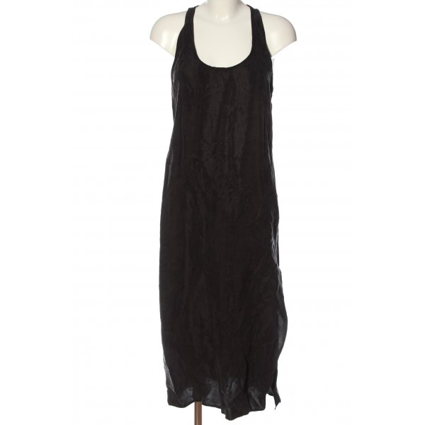 Zara Sommerkleid schwarz Casual-Look