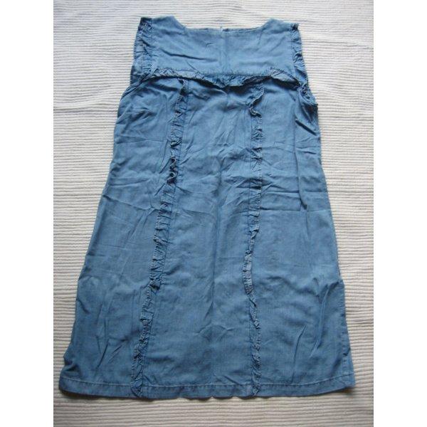 zara suesses sommerkleid neu gr. 36 s blau