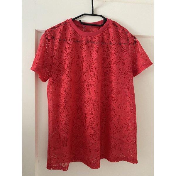 Zara T-Shirt gr.M rot