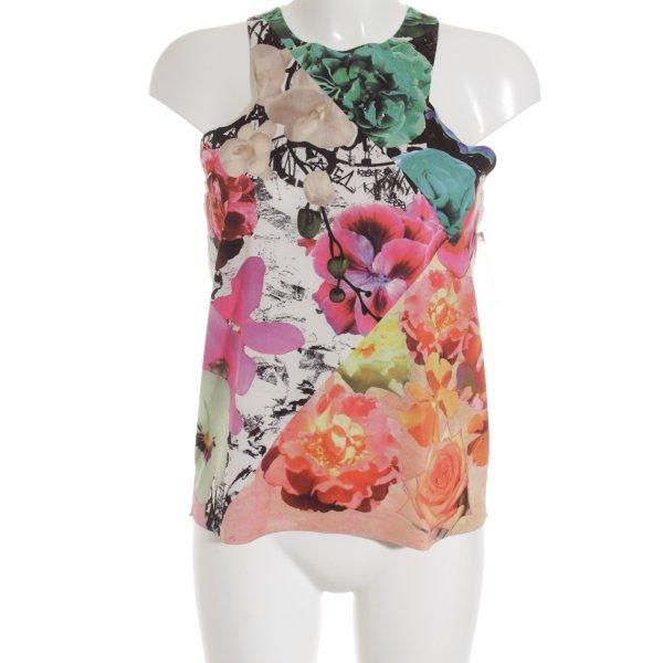 Zara Trägertop Blumenmuster Casual-Look