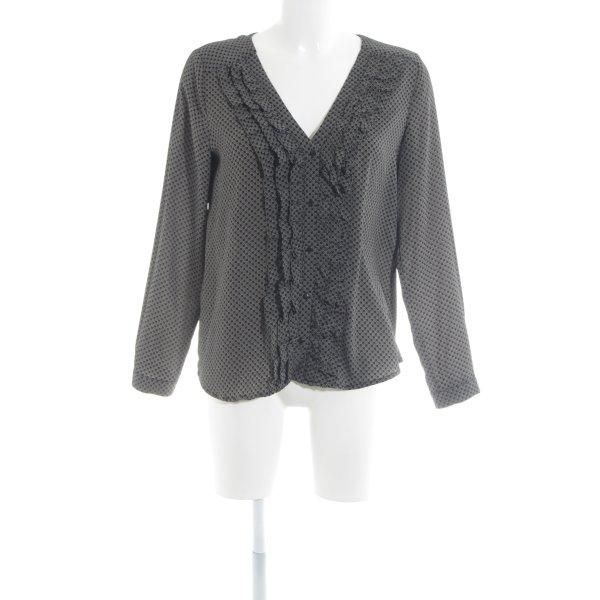 Zara Trafaluc Kurzarm-Bluse florales Muster Casual-Look