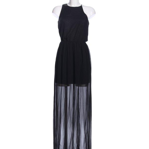 Zara Trafaluc One-Shoulder-Kleid schwarz Elegant