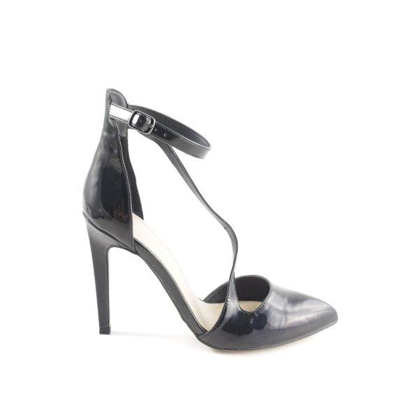 Zara Trafaluc Spitz-Pumps schwarz Business-Look