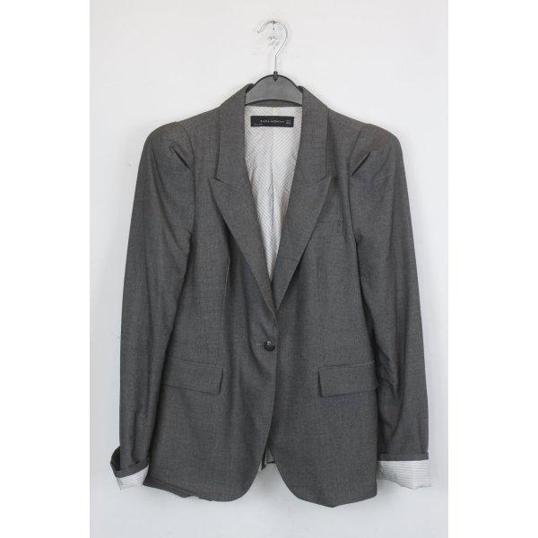Zara Woman Blazer Gr. M grau (18/5/043)