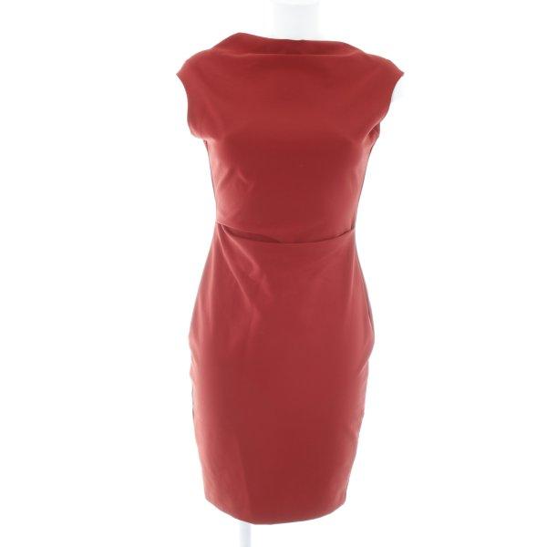 Zara Woman Bleistiftkleid rostrot Elegant