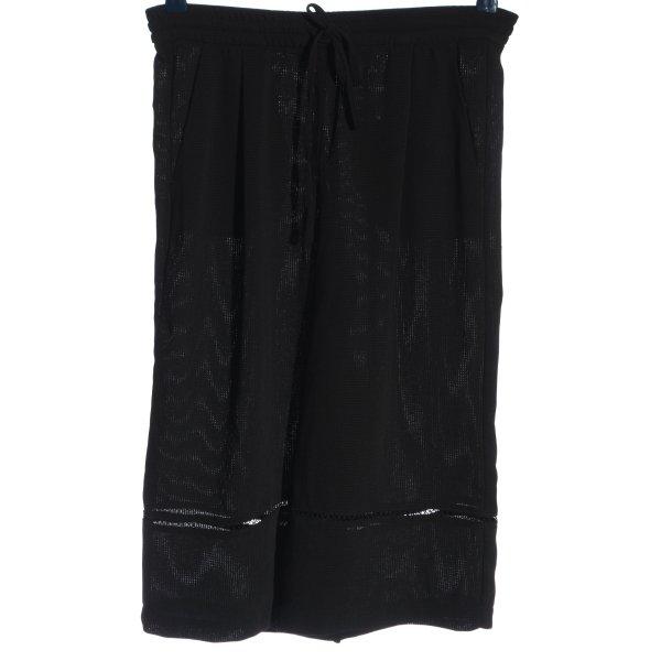 Zara Woman Culottes schwarz Casual-Look