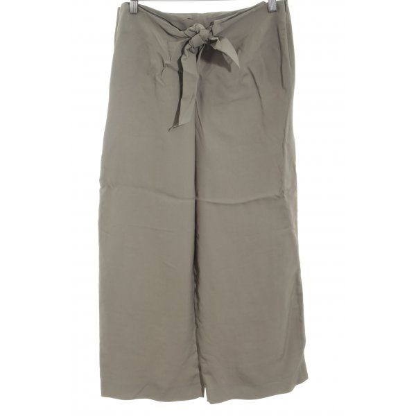 Zara Woman Culottes hellgrau Casual-Look