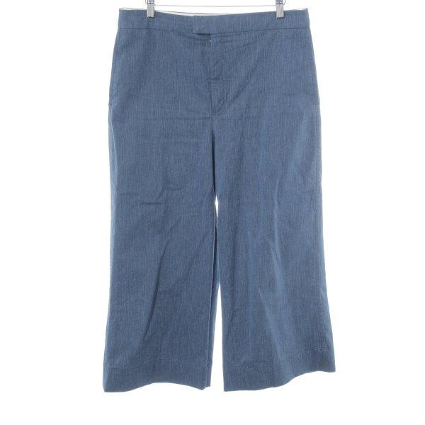 Zara Woman Culottes stahlblau Casual-Look