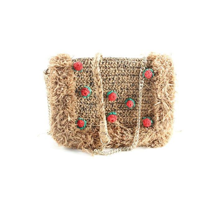 Zara Woman Handtasche meliert Beach-Look