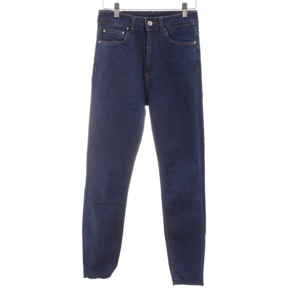 Zara Woman High Waist Jeans blau Casual-Look
