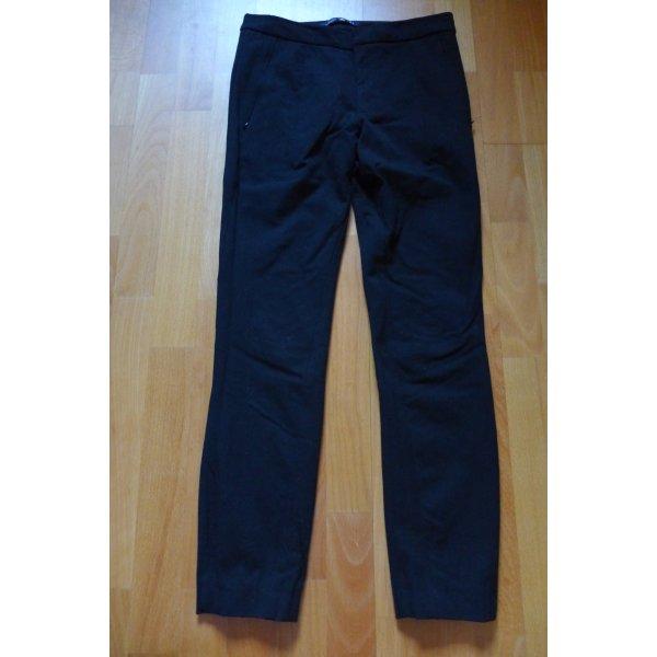 Zara Woman Hose Jeans Skinny Röhre schwarz, Gr. S