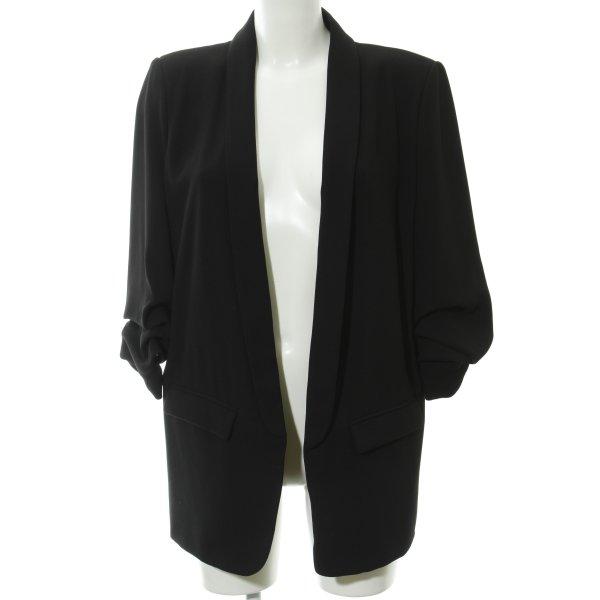 Zara Woman Blazer corto nero stile professionale
