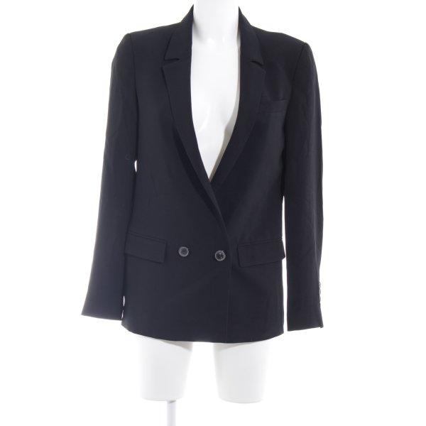 Zara Woman Blazer court noir style d'affaires