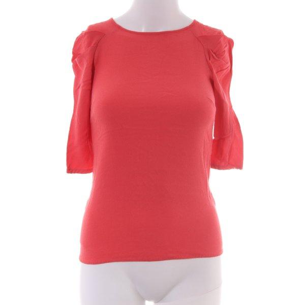 Zara Woman Longsleeve rot Elegant