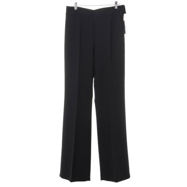 Zara Woman Marlenehose schwarz Elegant