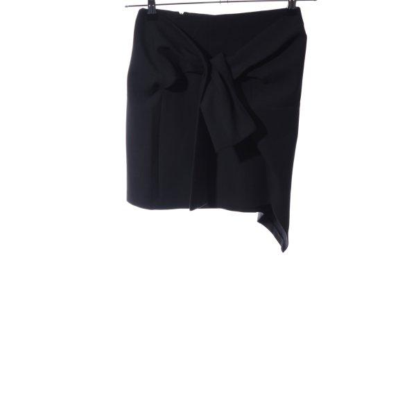 Zara Woman Minirock schwarz Business-Look