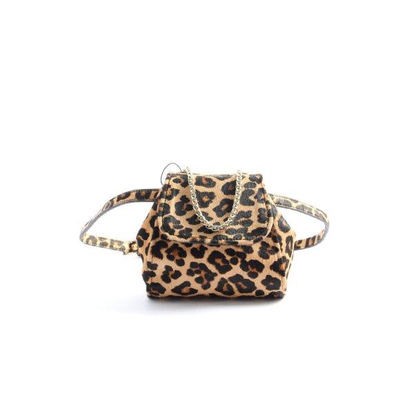 Zara Woman Minitasche Leomuster Casual-Look