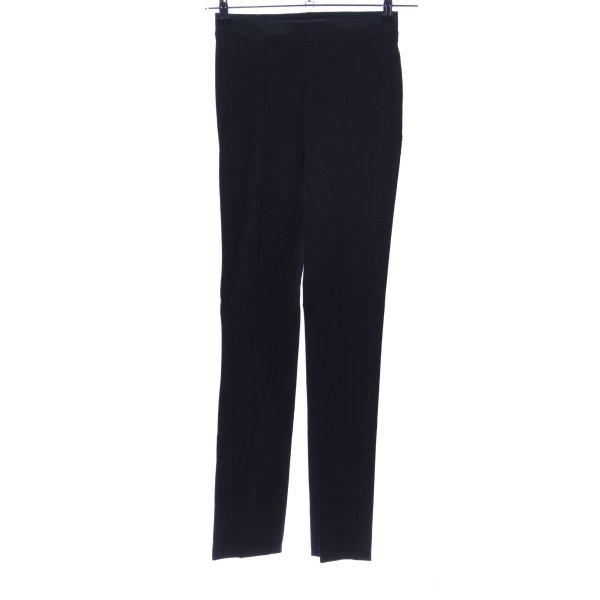 Zara Woman Stretchhose schwarz Casual-Look