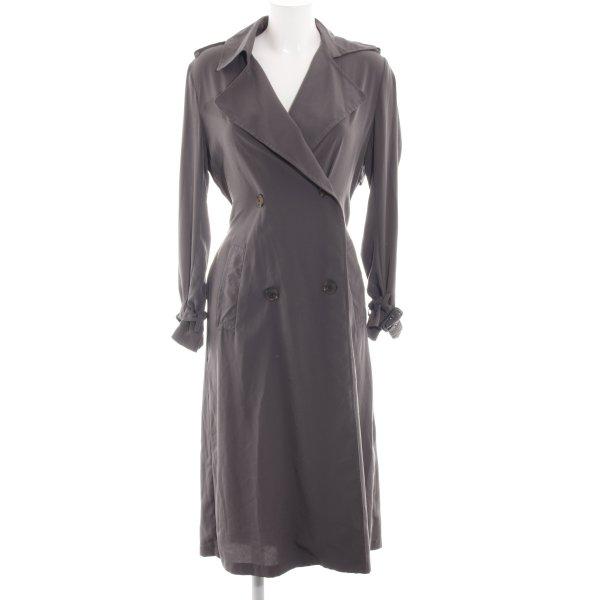Zara Woman Trenchcoat hellgrau Business-Look