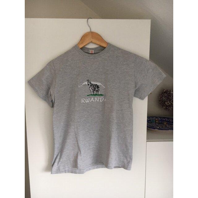 Zebra-Tshirt aus Ruanda