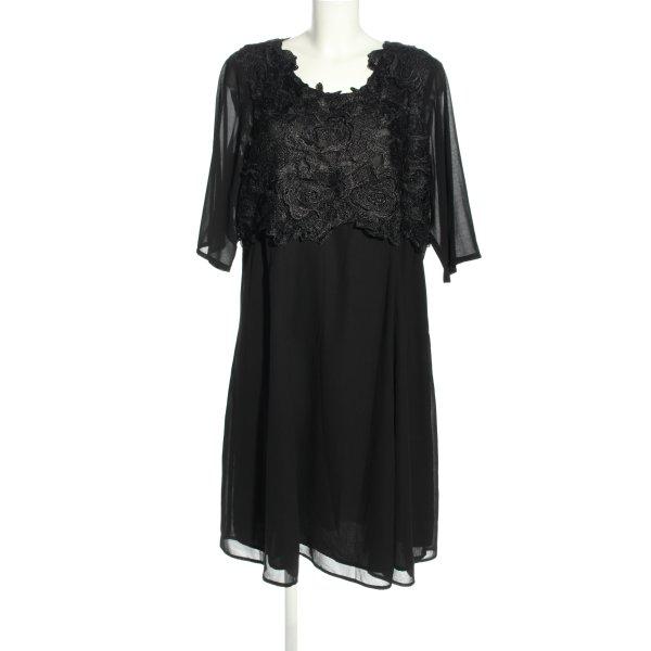 Zizzi Abendkleid schwarz Elegant